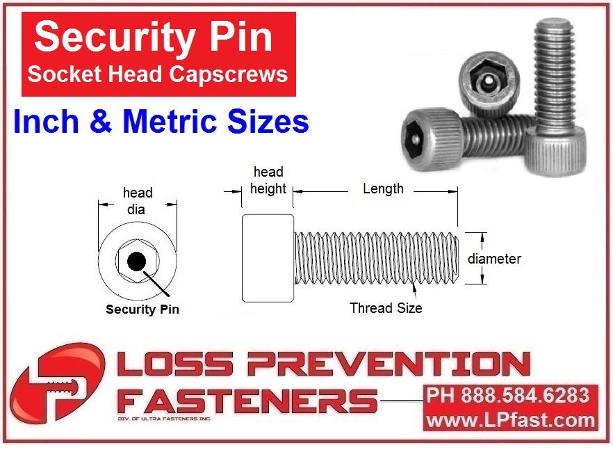 Socket Head Capscrew Pin