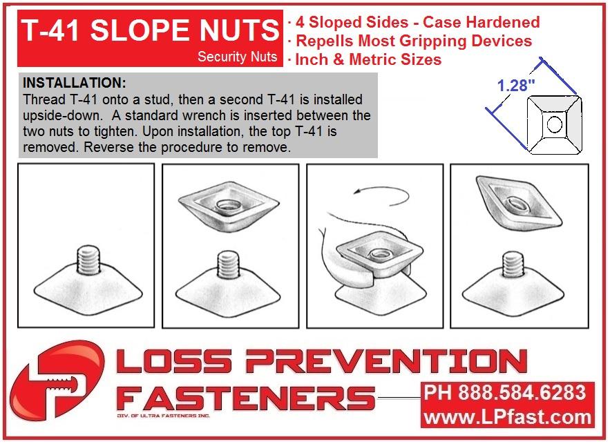 T41 Slope Nut