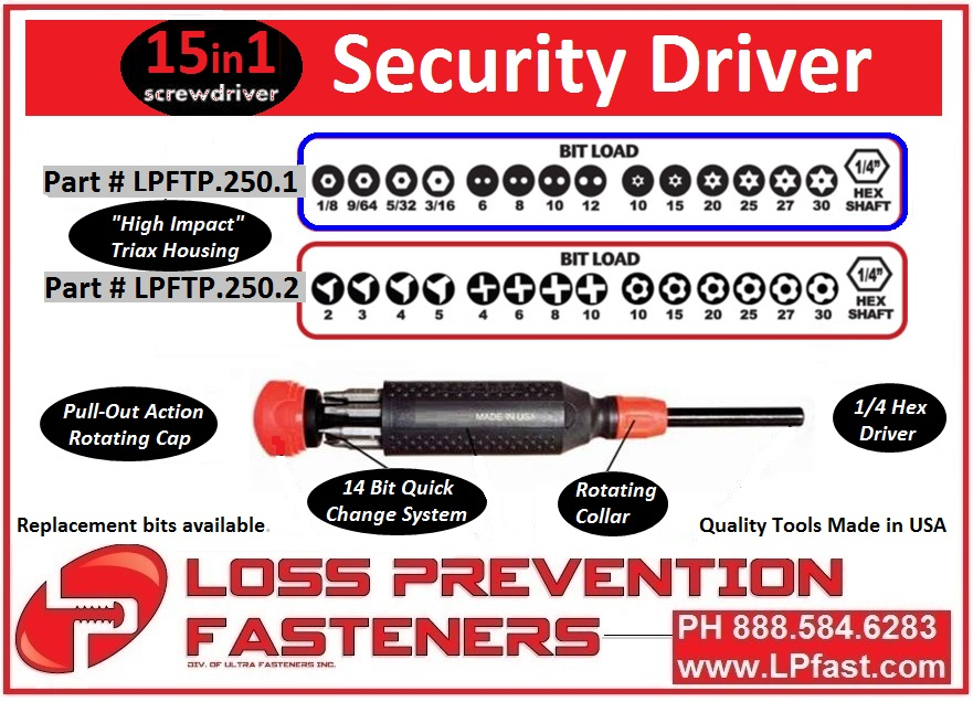 LPFast.com 15 in 1 Security Tools