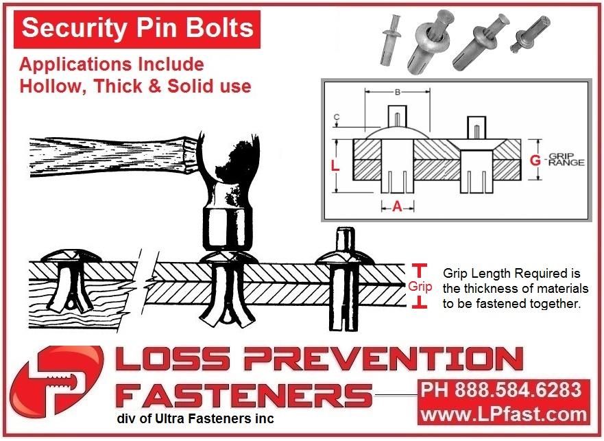 Pin Bolts