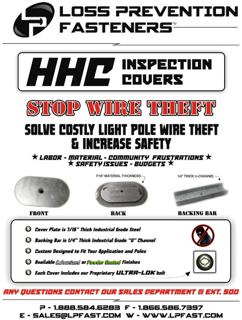 wire theft prevention