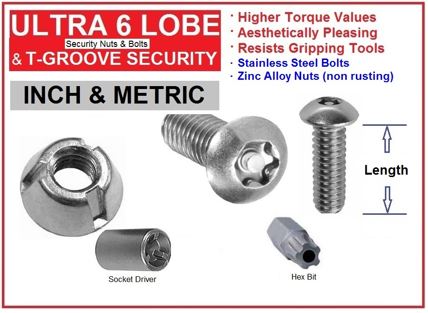 Security Nuts and Bolts