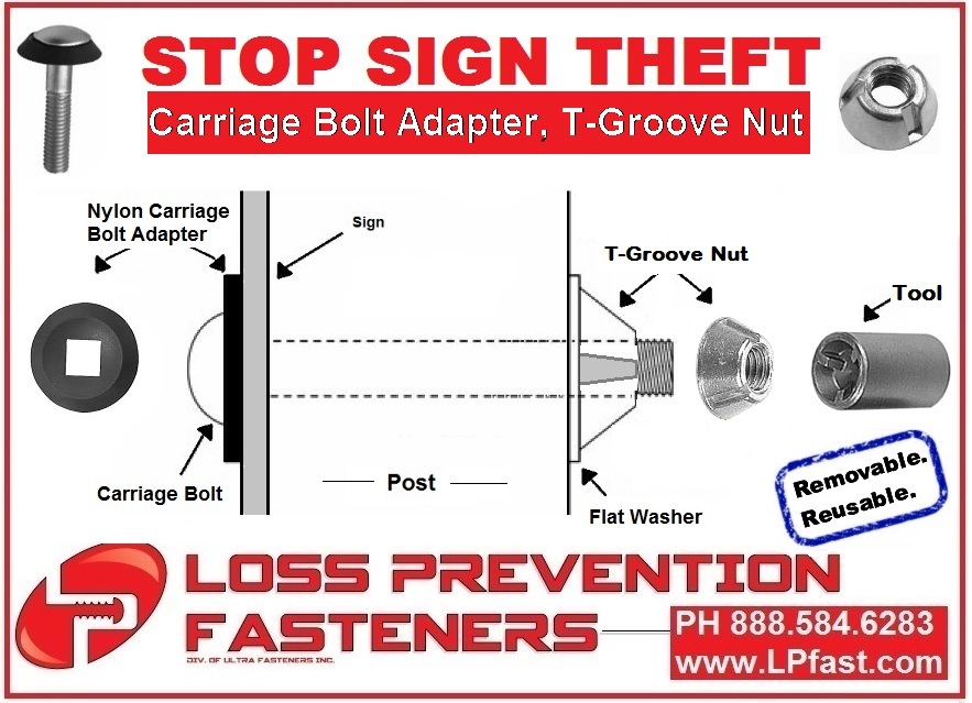Stop sign theft T Groove