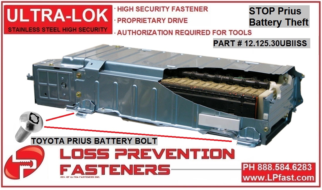 Toyota Prius Security Battery PACK UltraLokII