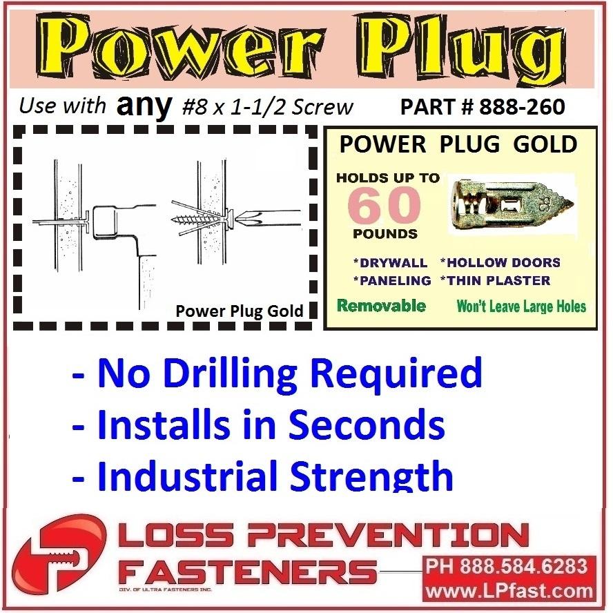 Power Plug Gold