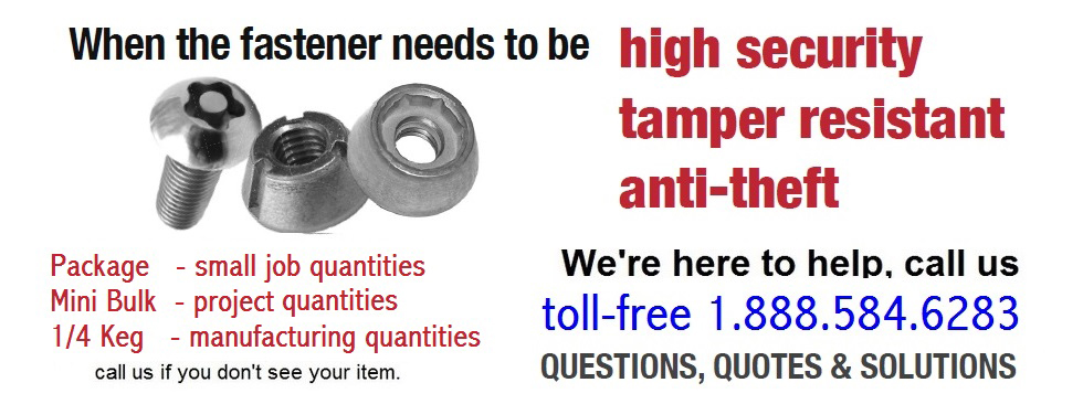 Hard-to-find-security-fasteners