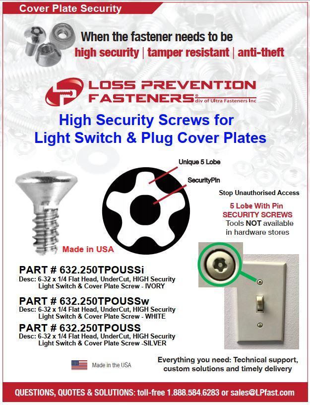 high security screws