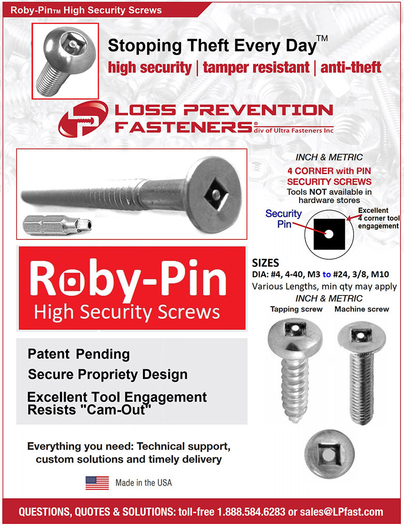Roby Pin Square drive with Pin